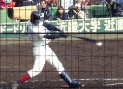 大阪桐蔭まずは初戦突破!79回選抜 日本文理戦 3月23日