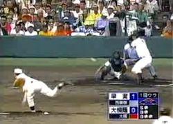 2006夏高校野球 甲子園大会 対早稲田実業 中田翔 対 斉藤佑樹