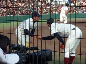 中田翔ピッチング画像2