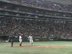 日本シリーズ第4戦中田1