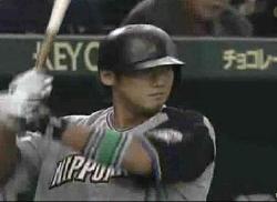 日本シリーズ第4戦 中田3